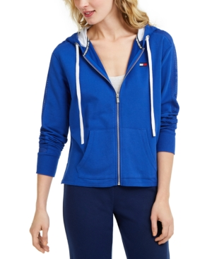 Tommy Hilfiger SPORT ACTIVE MESH-INSET HOODIE