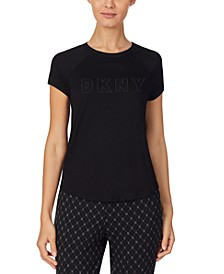 Sleepwear Contrast-Trim Sleep T-Shirt