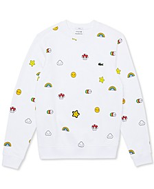 Men's Croco Series FriendsWithYou Limited Edition Crewneck Sweatshirt