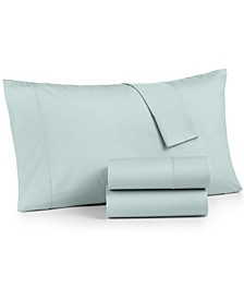 4-Pc. California King Sheet Set, 400 Thread Count 100% Cotton Percale, Created for Macy's