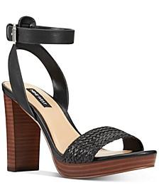 Deluxe Woven Platform Sandals