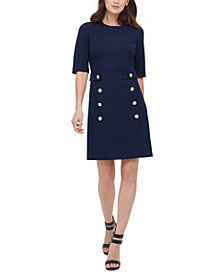 DKNY Embellished Sheath Dress