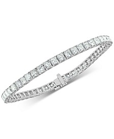 Diamond Princess Tennis Bracelet (10 ct. t.w.) in 14k White Gold