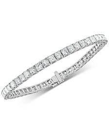Diamond Princess Tennis Bracelet (10 ct. t.w.) in 14k White Gold