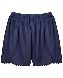 Big Girls Challis Shorts, Created for Macy's