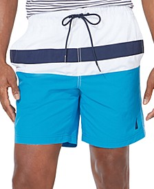 "Men's Colorblocked 8"" Swim Trunks"