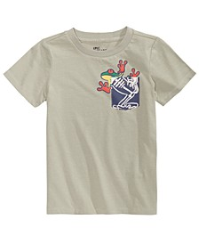 Toddler Boys Frog Pocket T-Shirt, Created for Macy's