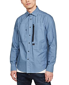 Men's Powel Slim-Fit Dual Pocket Shirt, Created for Macy's