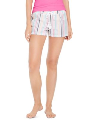 Metallic Striped Pajama Shorts, Created for Macy's
