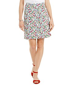 Floral-Print Skort, Created for Macy's