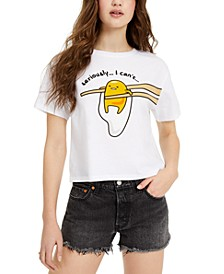 Gudetama Juniors' Seriously I Can't Graphic T-Shirt