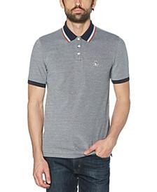 Men's Tipped Birdseye Piqué Polo Shirt