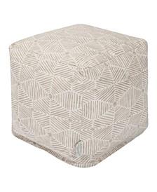 """Charlie Ottoman Pouf Cube 17"""" x 17"""""""