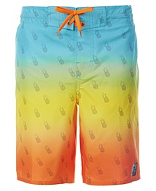 Big Boys Dipped Swim Trunks