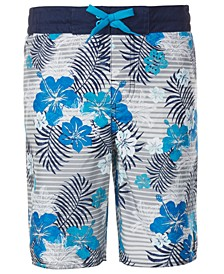 Big Boys E-Board Swim Trunks