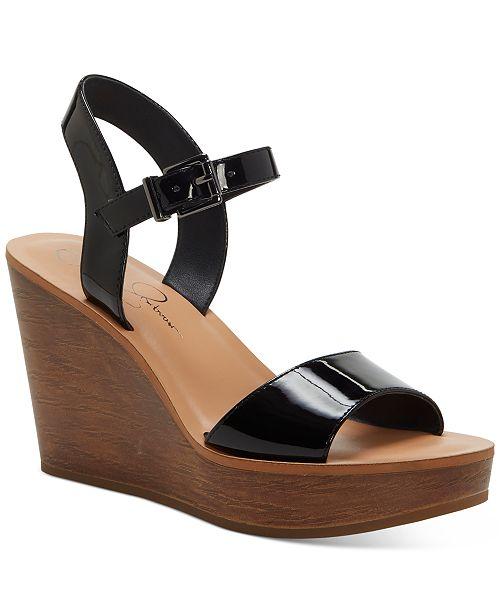 Jessica Simpson Miercen Platform Wedge Sandals