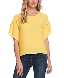 Vince Camuto Tulip-Sleeve Blouse