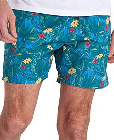 Men's Filey Floral-Print Swim Trunks