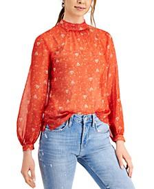 Delmira Floral-Print Top