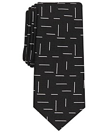 Men's Lorne Abstract-Print Necktie, Created for Macy's L