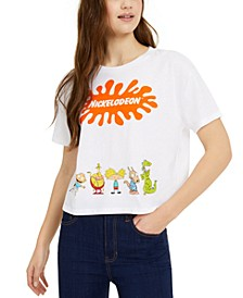 Juniors' Logo Characters Graphic T-Shirt