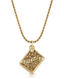 Stampholder Locket Pendant Necklace