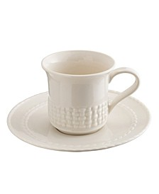 Weave Cup and Saucer