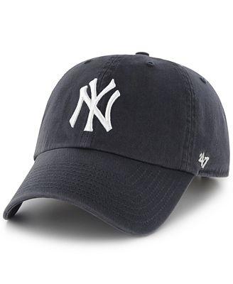 Lids Custom Hats >> '47 Brand New York Yankees Clean Up Hat - Sports Fan Shop By Lids - Men - Macy's
