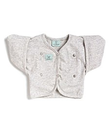 Baby Girls and Boys Butterfly Cardi Natural