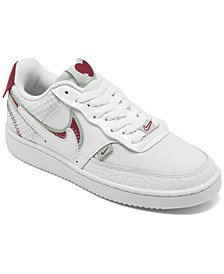 Women's Court Vision Low Premium Casual Sneakers from Finish Line