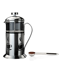 Cook'N'Co Stainless Steel 2-Pc. French Press Set
