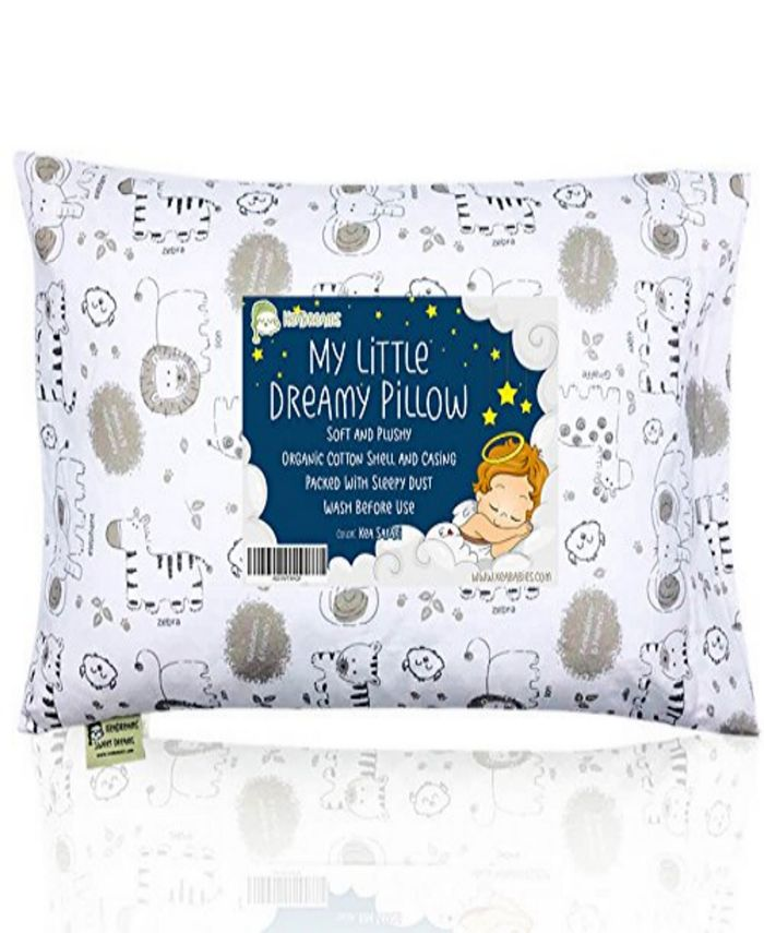 KeaBabies - Toddler Pillow with Pillowcase