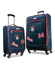 Disney Minnie Mouse Denim Krush Softside Luggage Collection