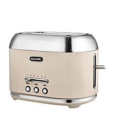 2-Slice 1000 Watt Retro Toaster