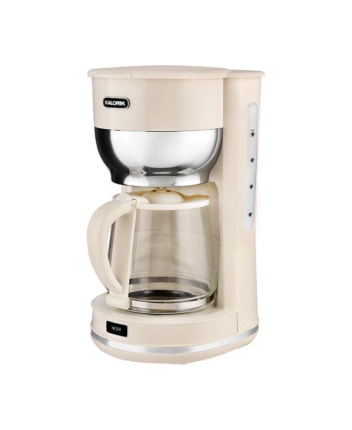 Kalorik - 10 Cup Retro Coffee Maker