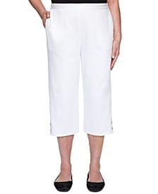 Petite Petal Pushers Capri Jeans