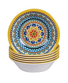 Portofino Melamine 6-Pc. All Purpose Bowls