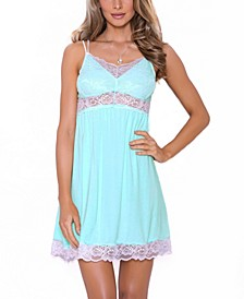 Women's Alluring Knit Ultra Soft Chemise Nightgown, Online Only