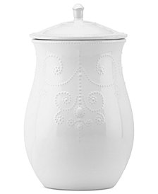 Lenox French Perle Cookie Jar