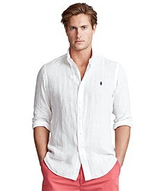 Men's Big & Tall Classic-Fit Linen Shirt