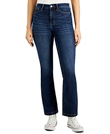 High-Rise Tummy-Control Bootcut Jeans