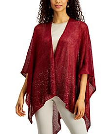 INC Sequin Border Knit Topper, Created for Macy's