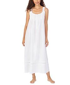 Cotton Dobby Stripe Nightgown