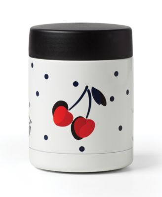 new york Vintage Cherry Dot Insulated Food Container