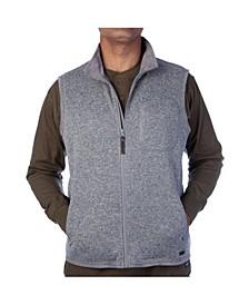 Men's Full Zip Sweater Vest