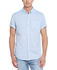 Men's Eton Linen Cotton Shirt