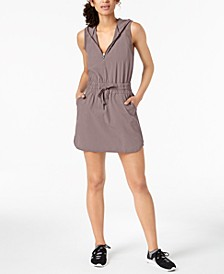 Woven Hoodie Dress, Created for Macy's
