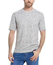 Men's Leaf Print T-Shirt