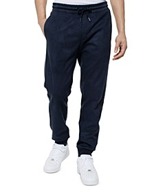 Men's Faux Suede Track Pants