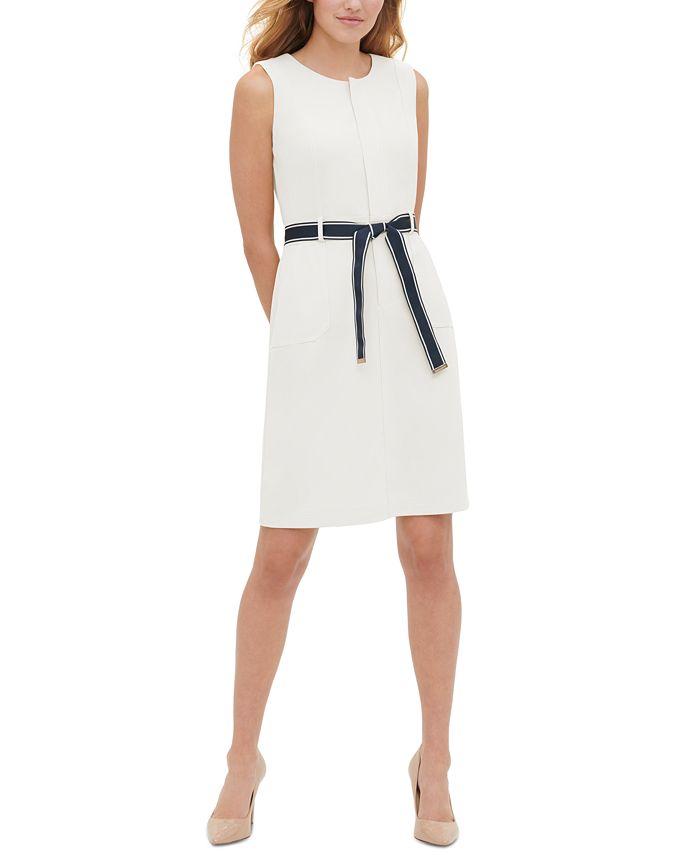 Tommy Hilfiger - Belted Sheath Dress